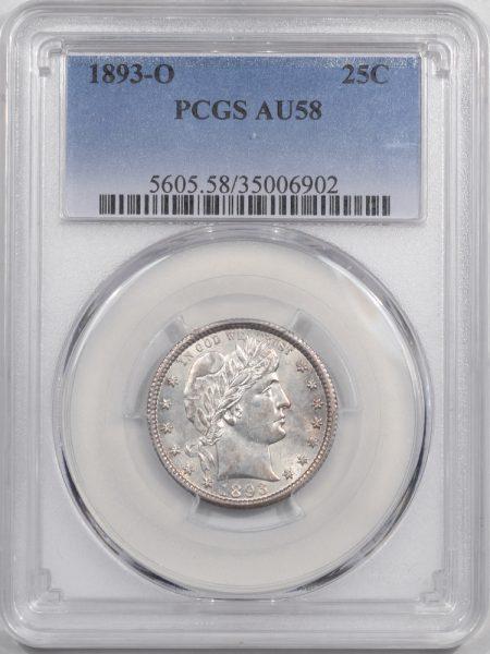 1893o-25C-PCGS-AU58-902-1
