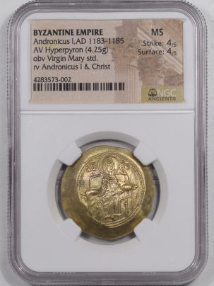 1183AD-ANDRONICUS-I-AV-HYPERPYRON-NGC-MS-002-1