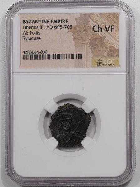 698-FOLLIS-TIBERIUS-III-BYZANTINE-NGC-CHVF-1