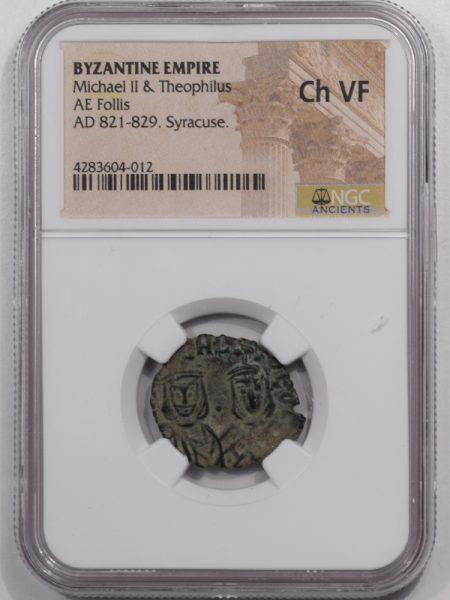 821-FOLLIS-MICHAEL-II-BYZANTINE-NGC-CHVF-1