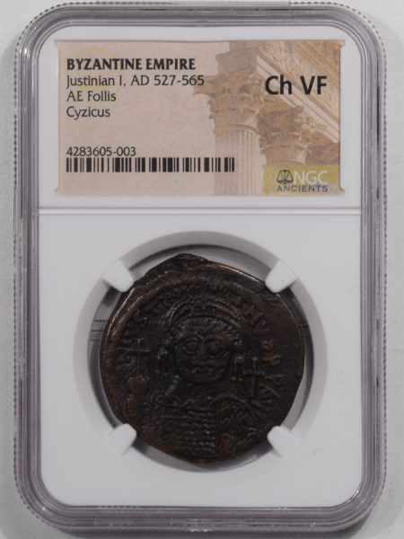 527AD-JUSTINIAN-I-AE-FOLLIS-NGC-CHVF-1