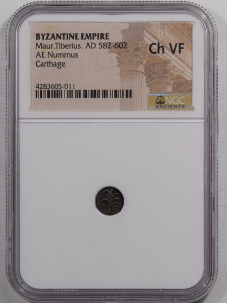 582AD-MAUR-TIBERIUS-AE-NUMMUS-NGC-CHVF-1
