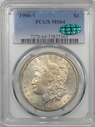 1900s-1-PCGS-MS64-CAC-363-1