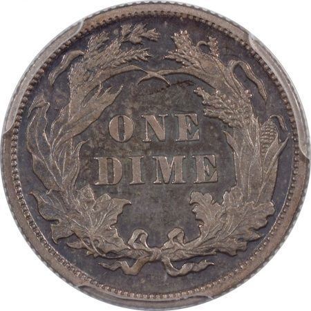 Liberty Seated Dimes 1887 PROOF LIBERTY SEATED DIME PCGS PR-64