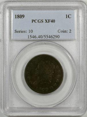 1809-1C-PCGS-XF40-290-1