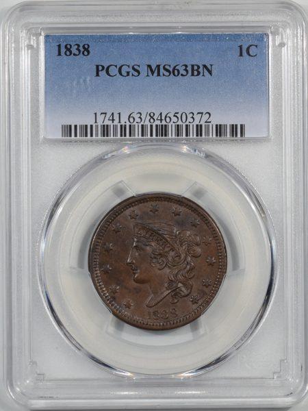 1838-1C-PCGS-MS63BN-372-1