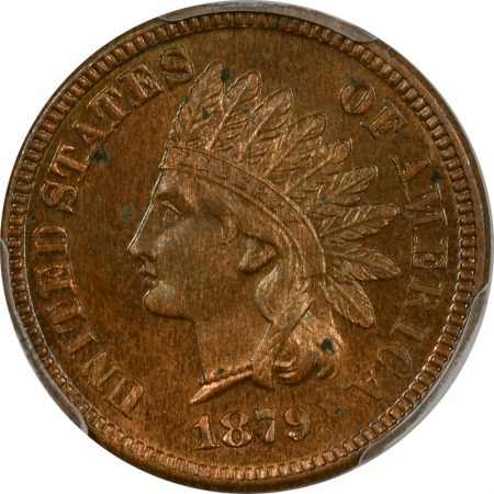 Indian 1879 PROOF INDIAN CENT PCGS PR-64 RB