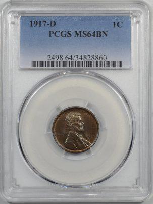 1917d-1C-PCGS-MS64BN-860-1