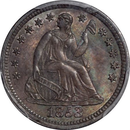 1853-H10C-NOARROWS-PCGS-MS63-CAC-312-2