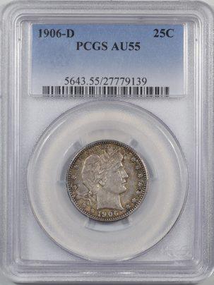 1906d-25C-PCGS-AU55-139-1