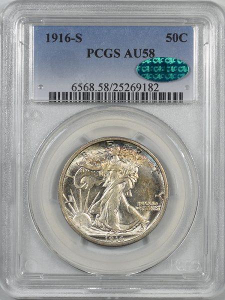 1916s-50C-PCGS-AU58-CAC-182-1