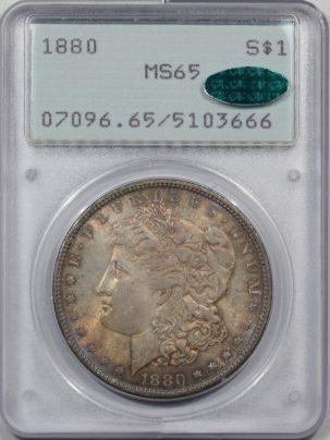1880-1-PCGS-MS65-CAC-666-1
