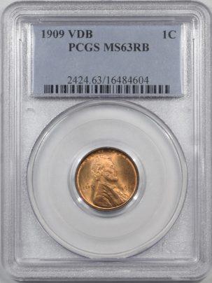1909-VDB-1C-PCGS-MS63RB-604-1