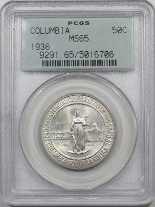 1936-COLUMBIA-50C-PCGS-MS65-706-1