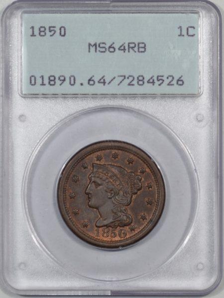 1850-1C-PCGS-MS64RB-526-1