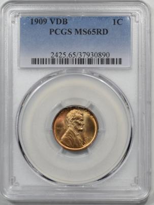 1909-VDB-1C-PCGS-MS65RD-890-1