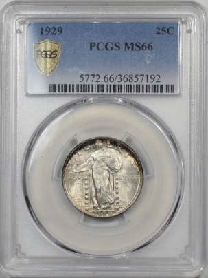 Standing Liberty Quarters 1929 STANDING LIBERTY PCGS MS-66