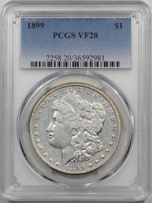 1899-1-PCGS-VF20-981-1