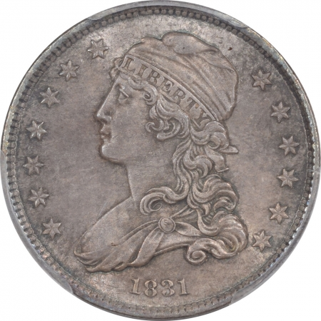 Capped Bust Quarters 1831 CAPPED BUST QUARTER – SMALL LETTERS PCGS MS-63, CHOICE!