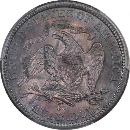 Liberty Seated Quarters 1878-CC SEATED LIBERTY QUARTER PCGS MS-64