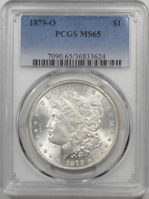 Coin World/Numismatic News Featured Coins 1879-O MORGAN DOLLAR PCGS MS-65