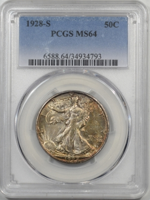 Coin World/Numismatic News Featured Coins 1928-S WALKING LIBERTY HALF DOLLAR PCGS MS-64