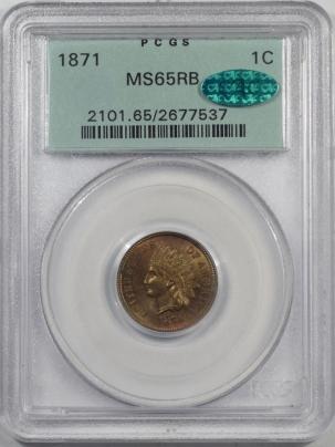 1871-1C-PCGS-MS65RB-CAC-537-1