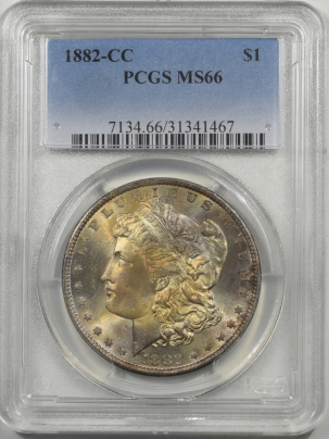 Morgan Dollars 1882-CC MORGAN DOLLAR PCGS MS-66