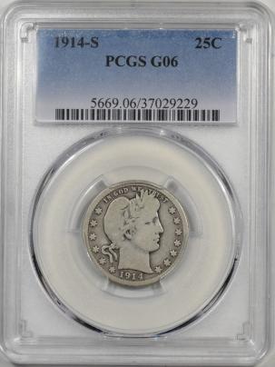 1914s-25C-PCGS-G6-229-1