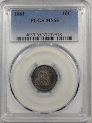 1861-10C-PCGS-MS65-918-1