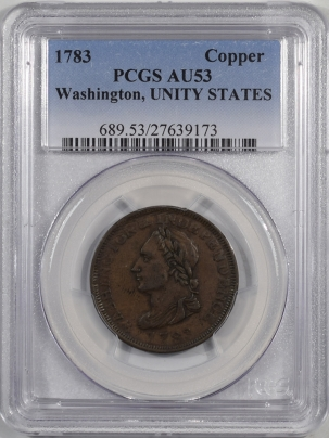 1783-1C-WASHINGTON-UNITY-STATES-PCGS-AU53-173-1