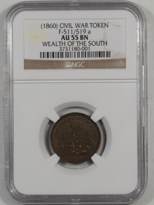 1860-WEALTH-OF-THE-SOUTH-F511-519a-CWT-NGC-AU55BN-001-1