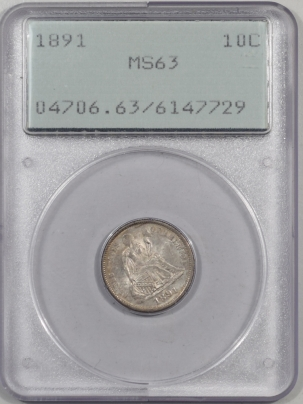 1891-10C-PCGS-MS63-729-1