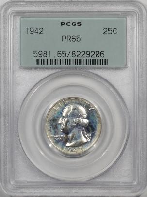 1942-25C-PCGS-PR65-206-1