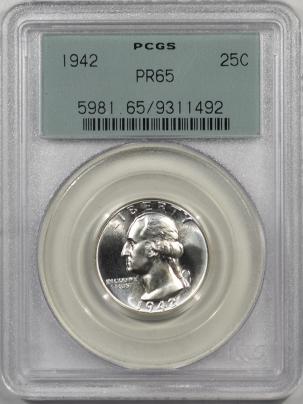 1942-25C-PCGS-PR65-492-1