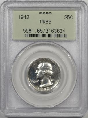 1942-25C-PCGS-PR65-634-1