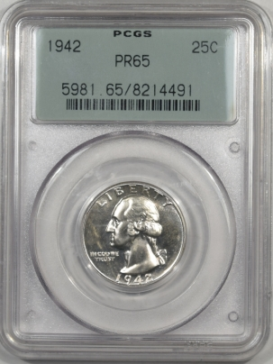 1942-25C-PCGS-PR65-491-1