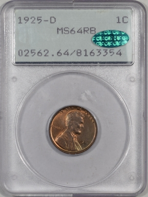 1925d-1C-PCGS-MS64RD-CAC-354-1