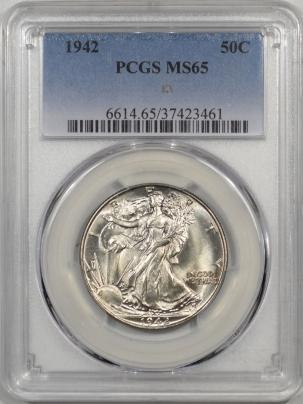 1942-50C-PCGS-MS65-461-1