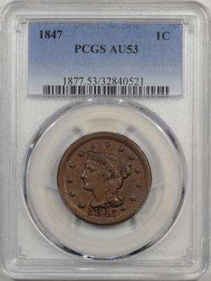1847-1C-PCGS-AU53-521-1