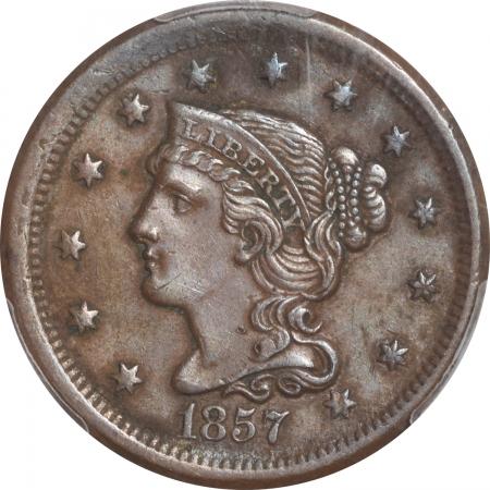1857-1C-SMDT-PCGS-AU53-752-2