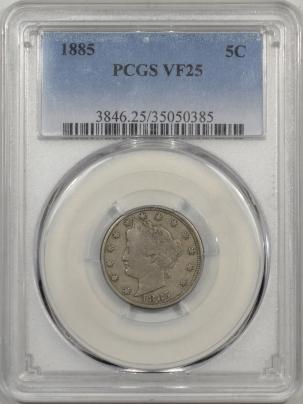 1885-5C-PCGS-VF25-385-1