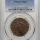 Draped Bust Half Cents 1805 DRAPED BUST HALF CENT – LARGE 5 STEMS PCGS XF-45