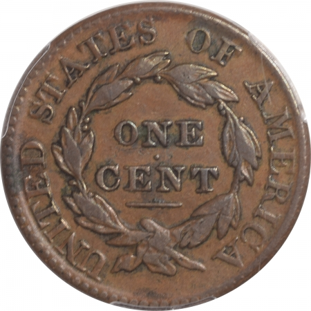 Coin World/Numismatic News Featured Coins 1826/5 CORONET HEAD CENT PCGS VF-30