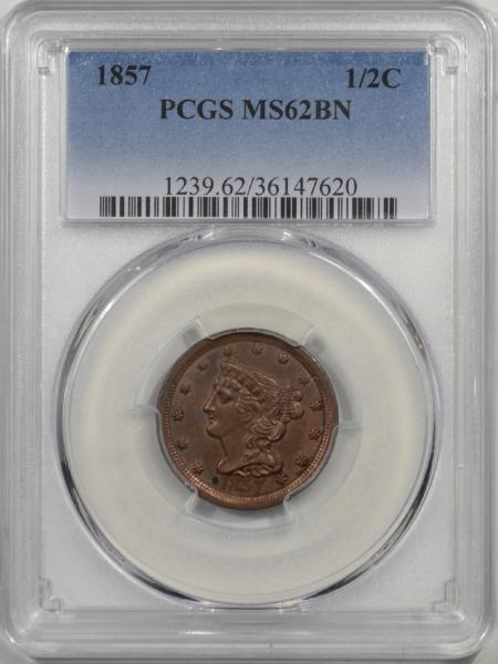 1857-H1C-PCGS-MS62BN-620-1