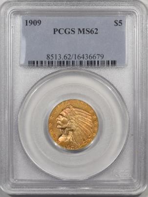 1909-5G-PCGS-MS62-679-1
