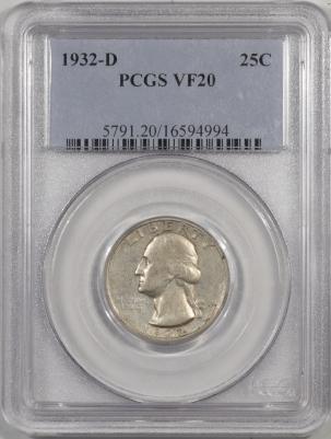1932d-25C-PCGS-VF20-994-1