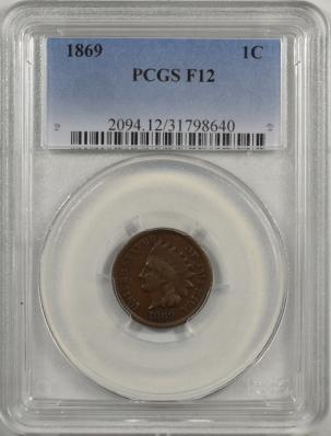 1869-1C-PCGS-F12-640-1