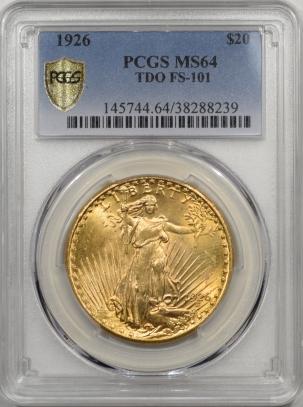 1926-$20G-TDO-FS101-PCGS-MS64-239-1
