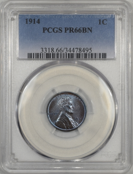 1914-1C-PCGS-PR66BN-495-1